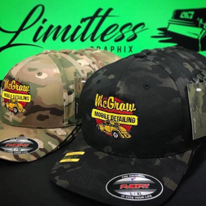 Custom 3d Puff Embroidery Hats No Minimum